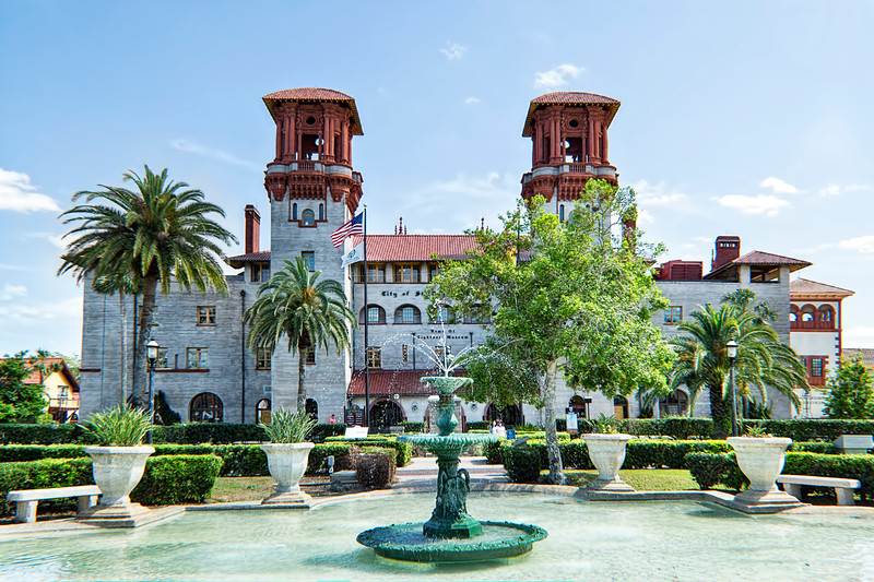 St. Augustine Lightner Museum And City Government Building