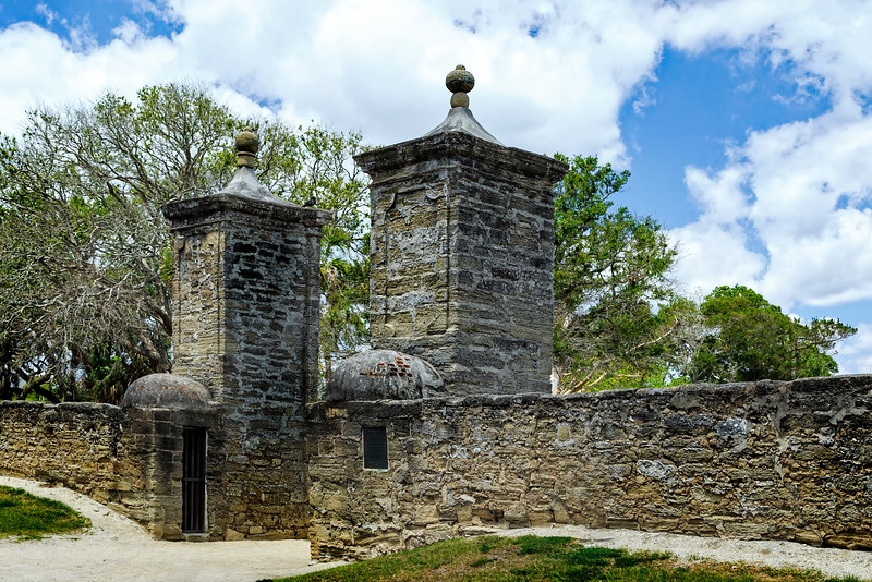 St. Augustine City Gate, Florida