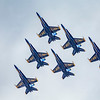 A Blue Angels Four-Ship