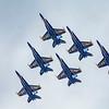 A Blue Angels Four-Ship
