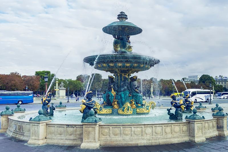 Fontaines de la Concorde, Paris
