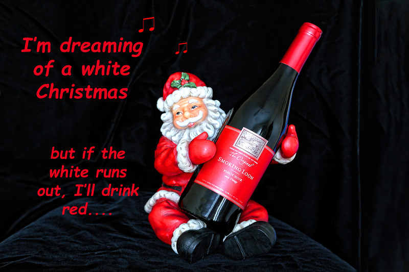 I'll Drink Red At Christmas
