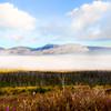 Misty Sunrise in Glacier National Park, Montana