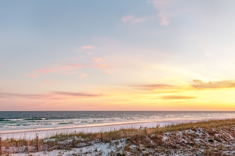 The Sand Dunes Of The Gulf Of Mexico