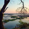 A River Sunset in Botswana