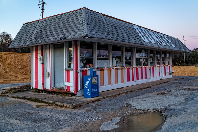 Donut Shop No Longer, Niceville, Florida