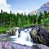 Red Rock Falls, Glacier National Park
