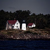 A Lighthouse Off the Coast of Maine