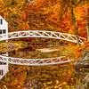 Autumn at Somesville Bridge, Mount Desert, Maine