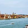 Venice Waterway Watercolor