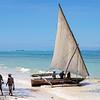 A Dhow in Zanzibar