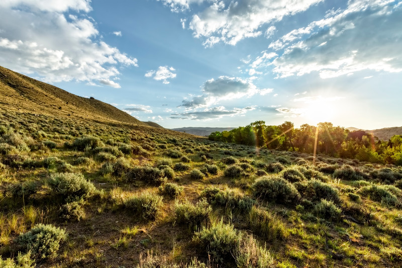 Absaroka Mountains Sunrise in the Spring