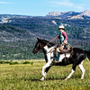 A Slow Trot on the Wyoming Range