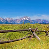 Wyoming's Grand Tetons Watercolor