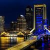 Jacksonville Nighttime Skyline