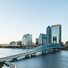 St Johns River Skyline, Jacksonville, Florida