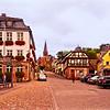 Miltenberg, Germany Street Scene