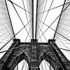 Brooklyn Bridge Website in Black and White