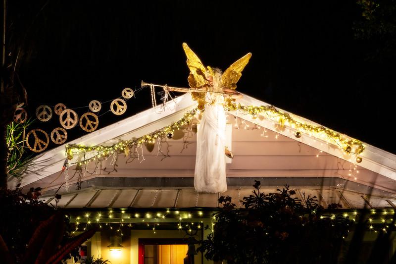 Warrior Angel Glowing in Key West