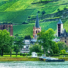 Bacharch, Germany, On the Rhine