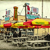 Nathan's Famous Frankfurters On the Coney Island Boardwalk