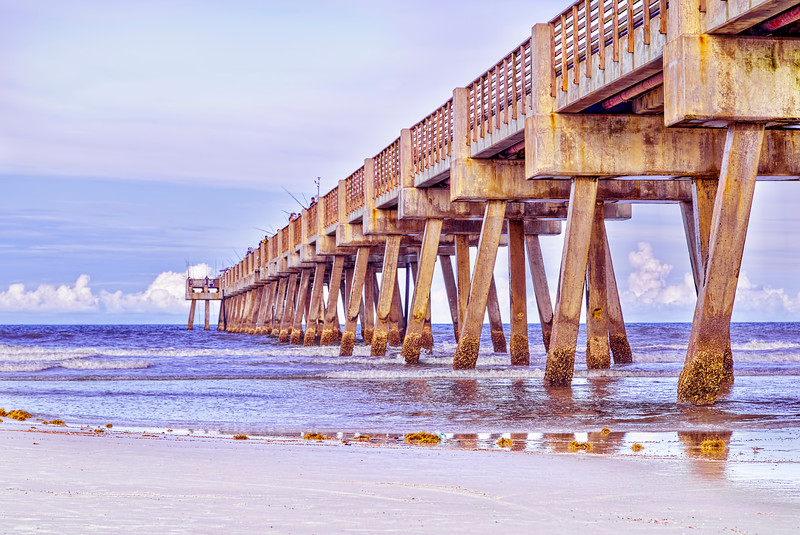 The Old Jacksonville Beach Pier