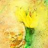 Yellow Tulip Scatter