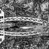 Somesville Bridge, Mount Desert, Maine In Black And White