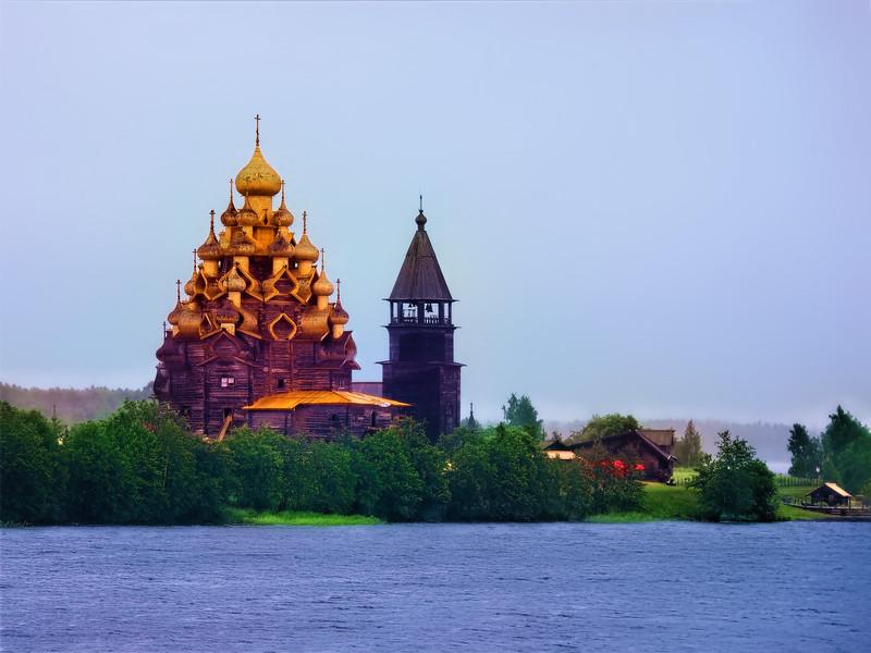 The Church of the Transfiguration, Kizhi, Russia