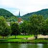 Church On The Rhine River, Germany