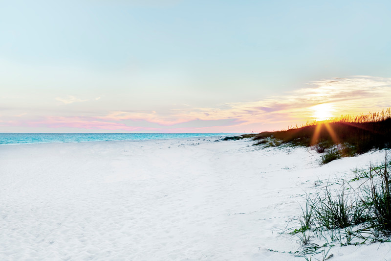A Beachy Gulf of Mexico Sunset