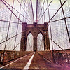 Brooklyn Bridge Grunge