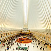 Oculus, the One World Trade Center Ultra Modern Train Station