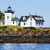 Lighthouse In Maine Waters