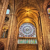 North Rose Window of Notre Dame Cathedral