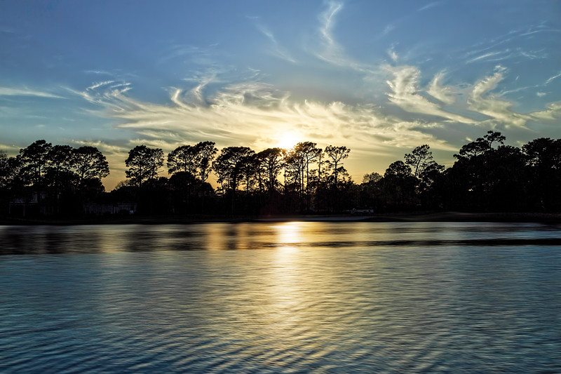Bluewater Bay Sunset