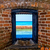 Through an Armory Window, Dry Tortugas