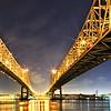 Crescent City Bridge in New Orleans