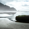 Foggy Short Sands Beach, Oregon