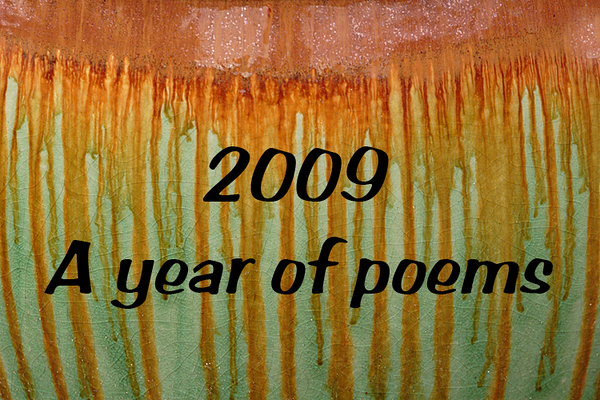 2009-00 A year of poems calendar