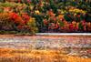 ME Acadia Jordon Pond autumn colors