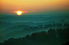 AR 1992 Eureka Springs Pig tail sunrise
