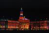 CO 1960 Denver Civic Center Christmas lights