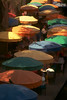 TX 1990 San Antonio river walk umbrellas
