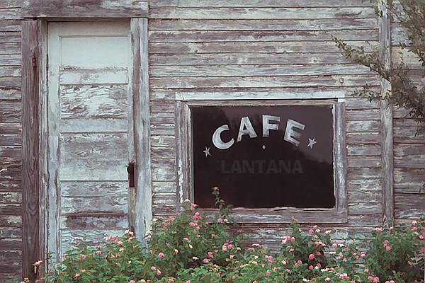 TX 1980s Lantana cafe