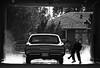 1950s CO Denver 1957 Pontiac at the car wash