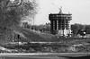 1950s CO Denver Construction on Holiday Inn near Bears Stadium