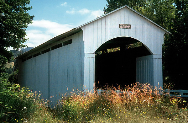 1993 OR Mosby Creek Covered bridge