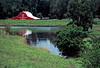 1986 TX Brenham Red barn along US290