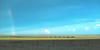 1978 TX Panhandle rainbow and train